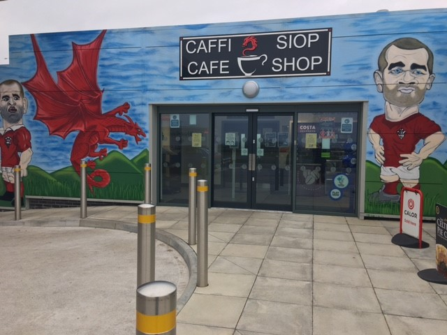 Oil 4 Wales Nantycaws Cafe Shop - Vaughan Sound