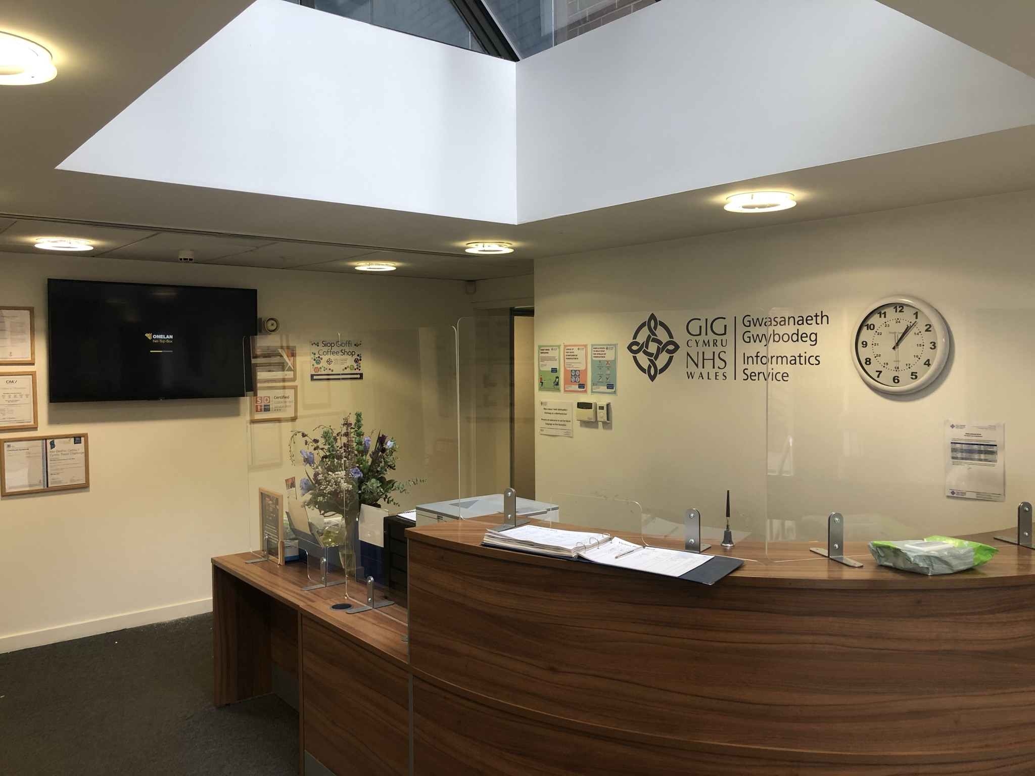 Velindre University NHS Trust - Digital Signage - Vaughan Sound