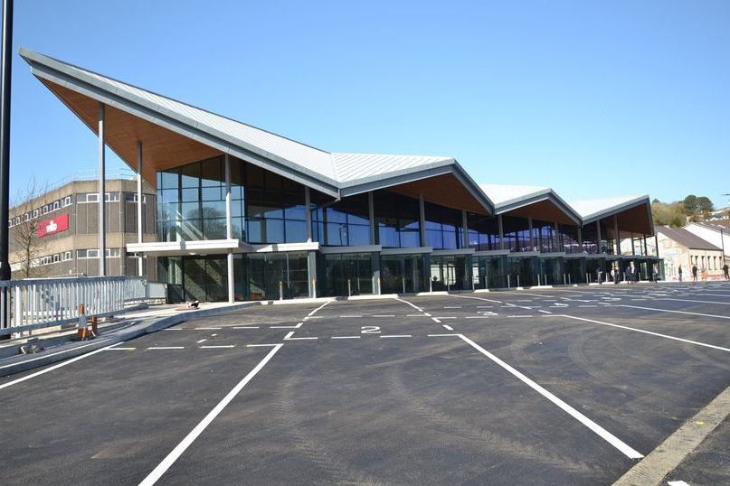 Merthyr Tydfil Bus Station - Vaughan Sound